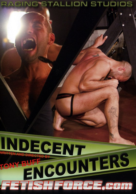Indecent Encounters DVD - Front