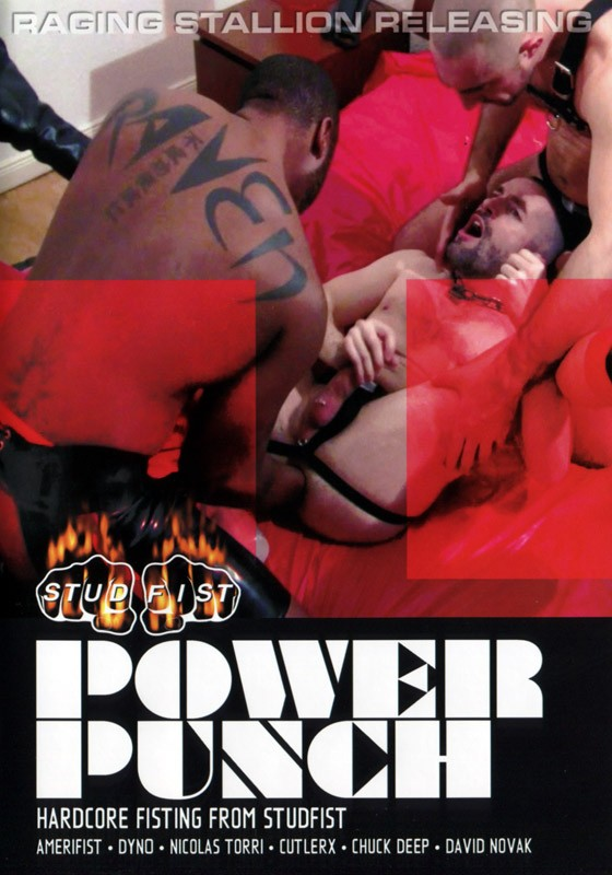 Power Punch DVD - Front