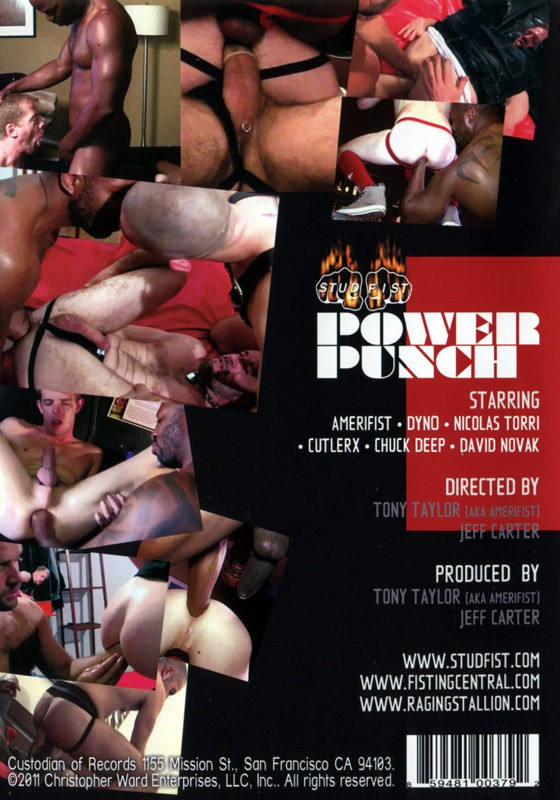 Power Punch DVD - Back