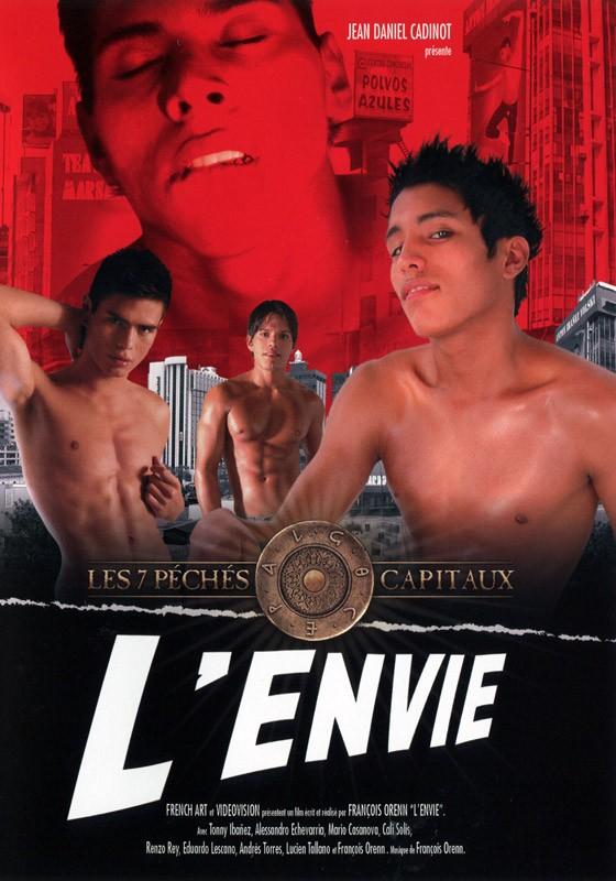 L'Envie DVD - Front