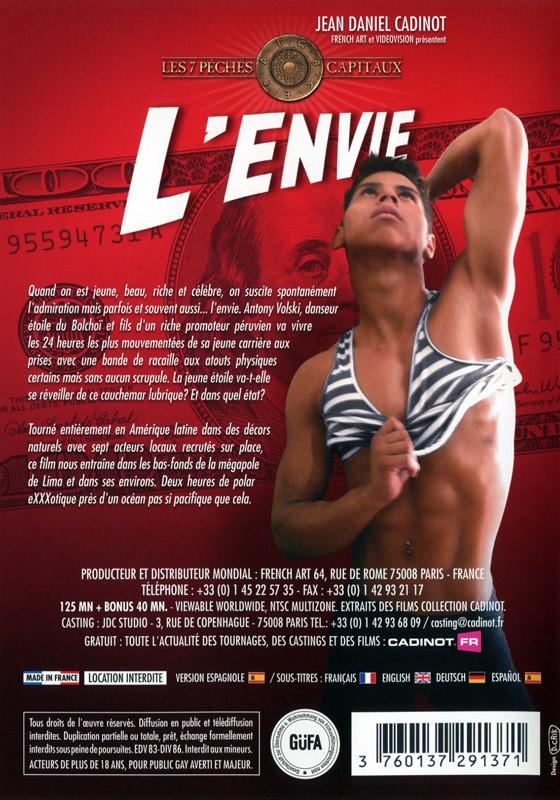 L'Envie DVD - Back