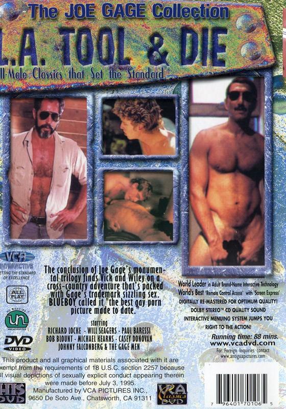 L.A. Tool & Die DVD - Back
