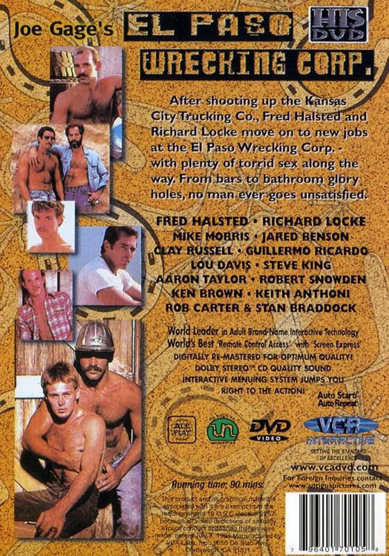 El Paso Wrecking Corp. DVD - Back
