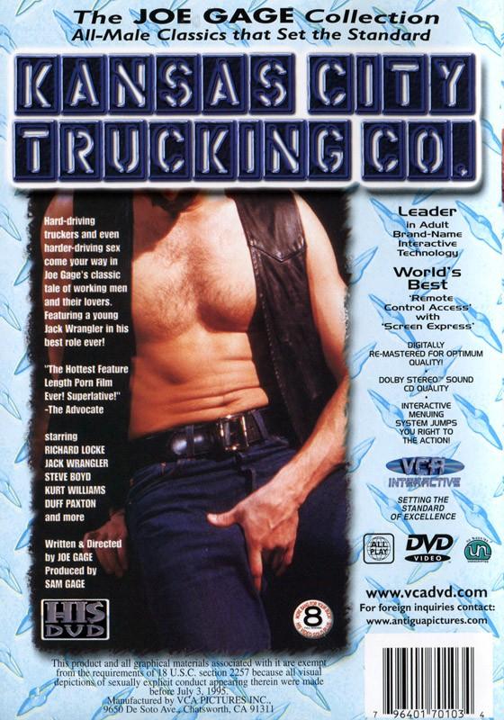 Kansas City Trucking Co. DVD - Back