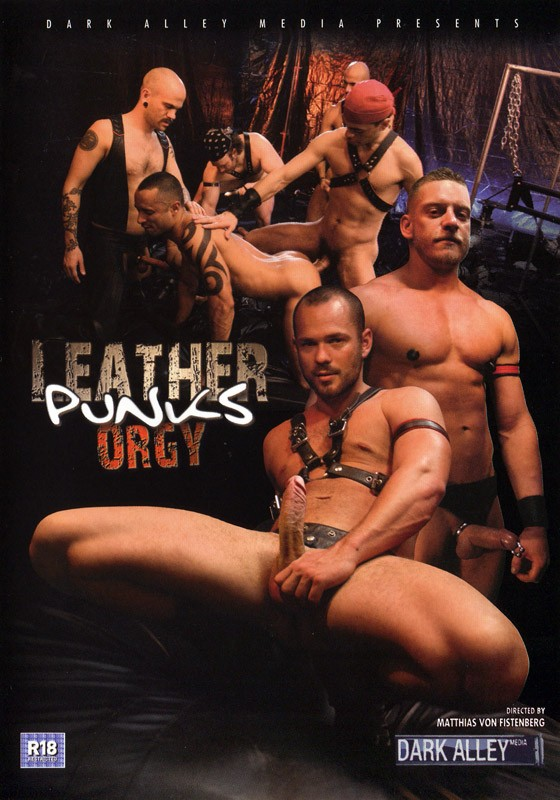 Leather Punks Orgy DVD - Front