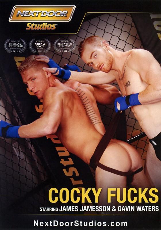 Cocky Fucks DVD - Front