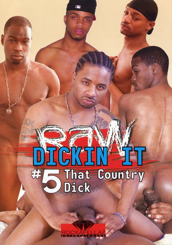 Raw Dickin It 5: That Country Dick DVD - Front