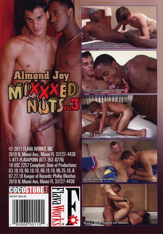 Mixxxed Nuts 3: Almond Joy DVD - Back