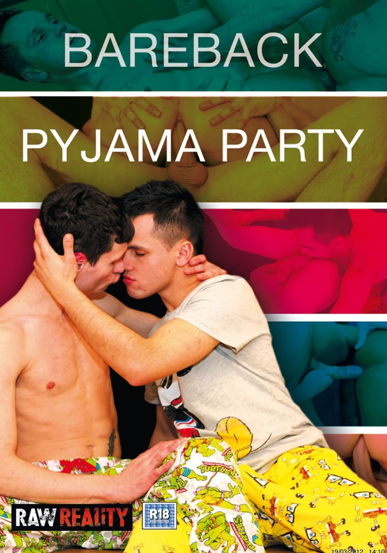 Bareback Pyjama Party DVD - Front