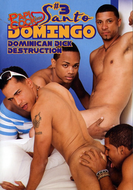 Santo Domingo 3: Dominican Dick Destruction DVD - Front