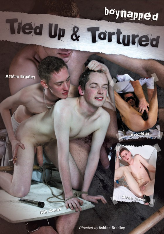 Boynapped 3: Tied Up & Tortured DVD - Front