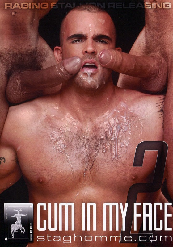 Cum In My Face 2 DVD - Front