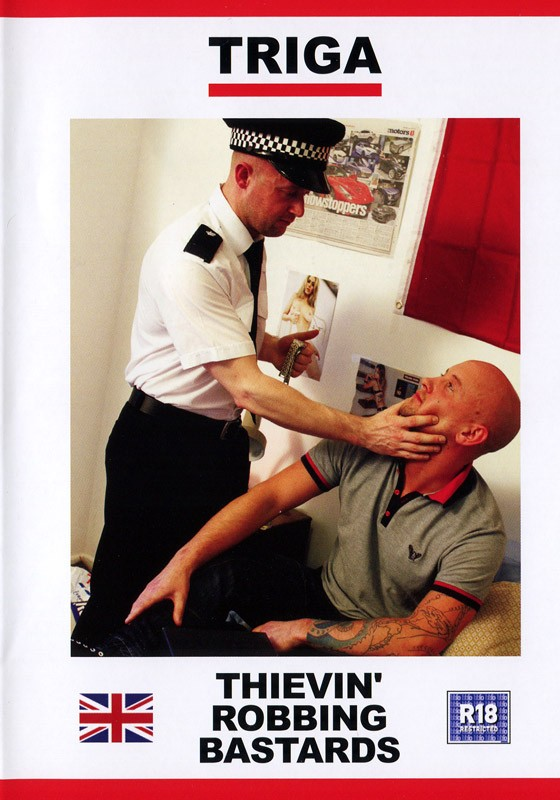 Thievin' Robbing Bastards DVD - Front