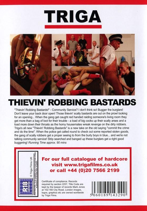 Thievin' Robbing Bastards DVD - Back