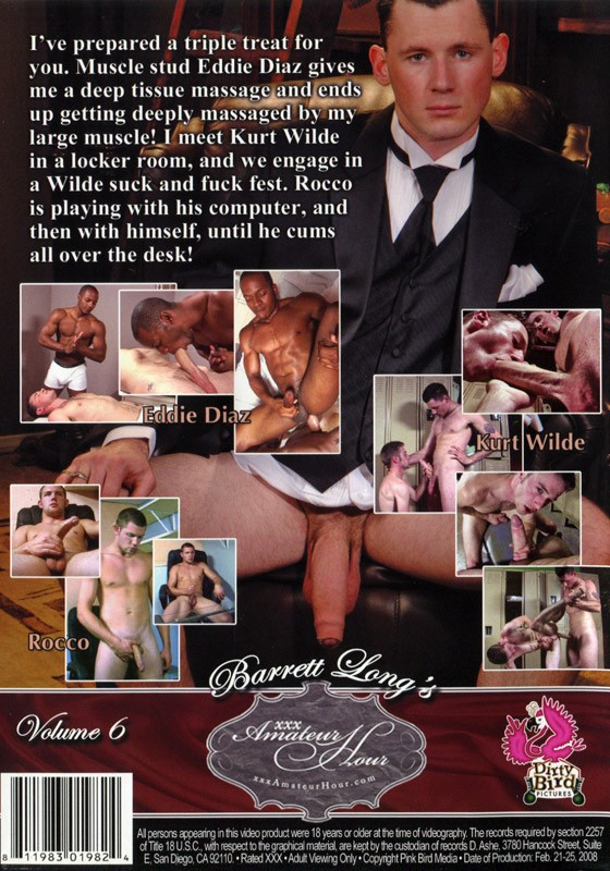 Barrett Long's XXX Amateur Hour 6 DVD - Back