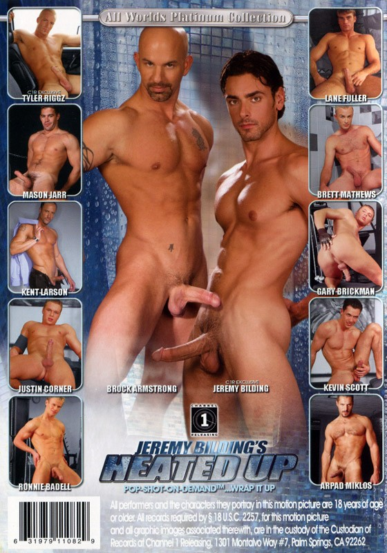 Jeremy Bilding's Heated Up DVD - Back