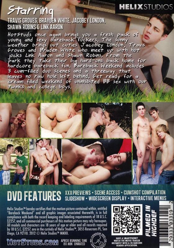 Bareback Weekend (Helix) DVD - Back