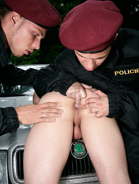 Uniformed Ass Bangers DVD - Gallery - 019
