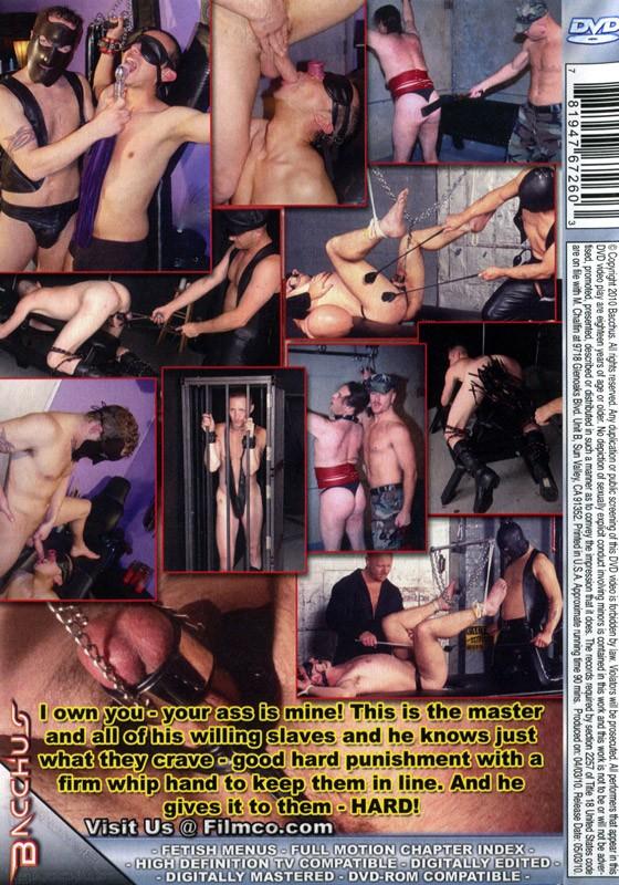 Master & His Slaves DVD - Back