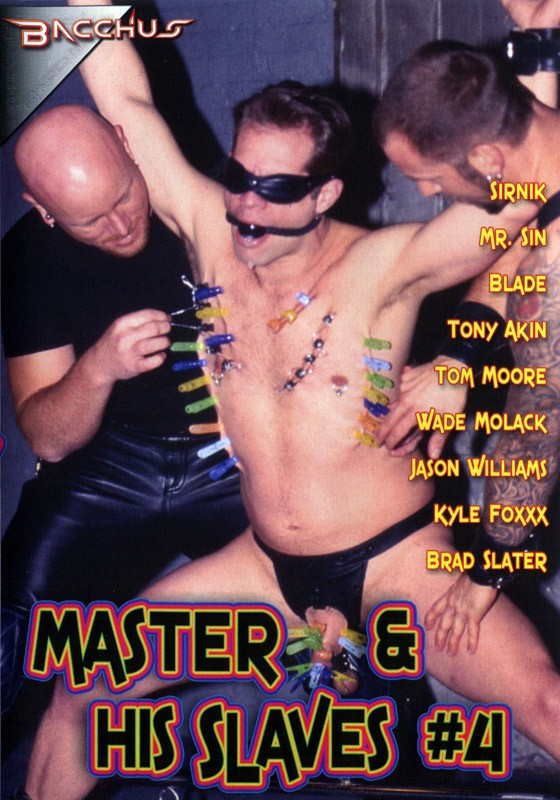 Master & His Slaves 4 DVD - Front