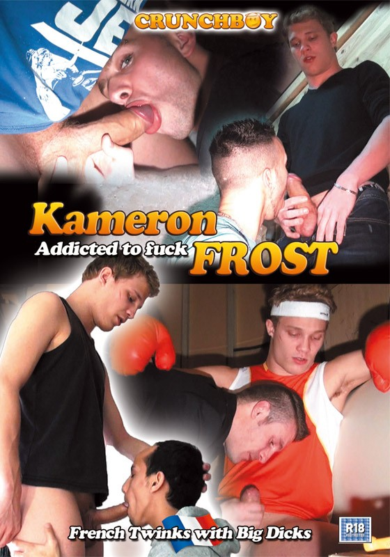 Kameron Frost- Addicted To Fuck DVD - Front