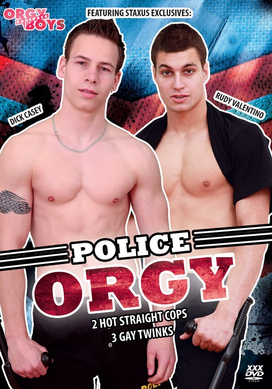 Police Orgy DVD - Front