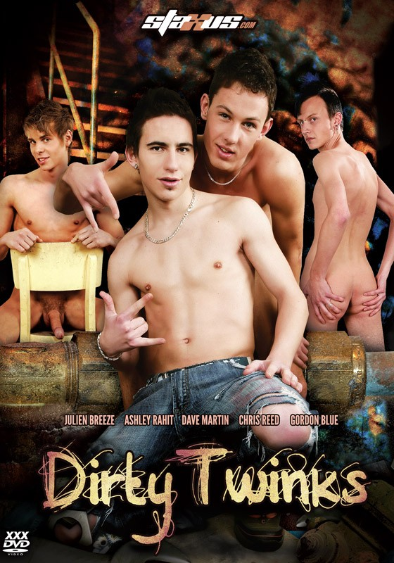 Dirty Twinks DVD - Front