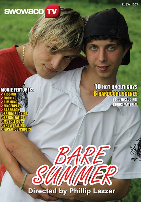Bare Summer DVD - Front