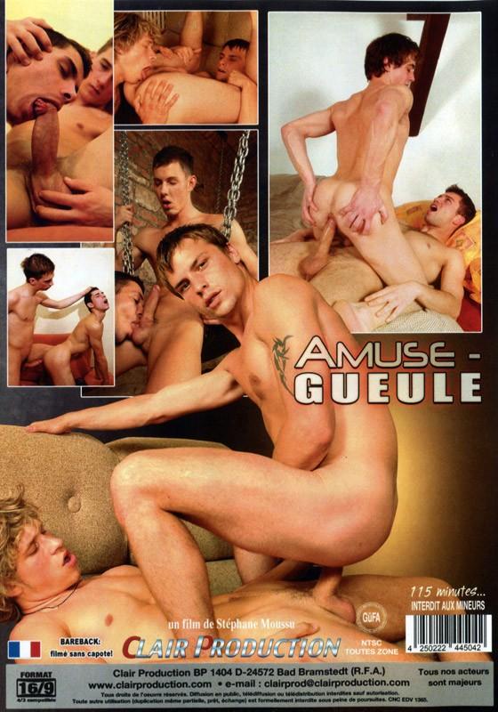 Amuse-Gueule DVD - Back