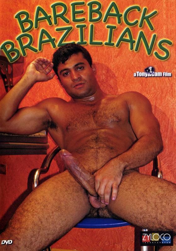 Bareback Brazilians DVD - Front