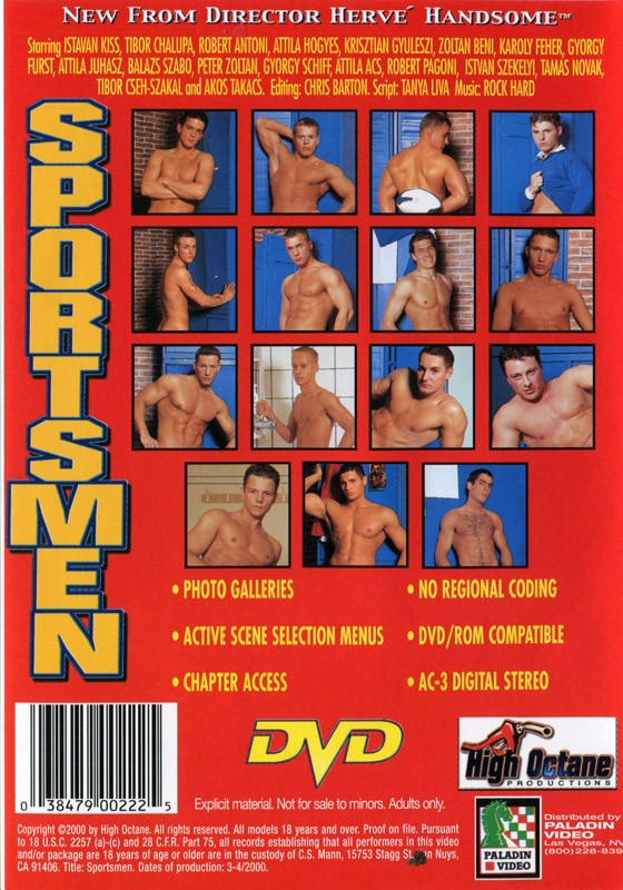 Sportsmen DVD - Back