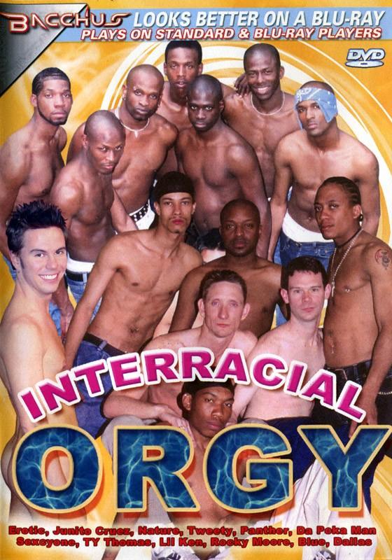 Interracial Orgy DVD - Front