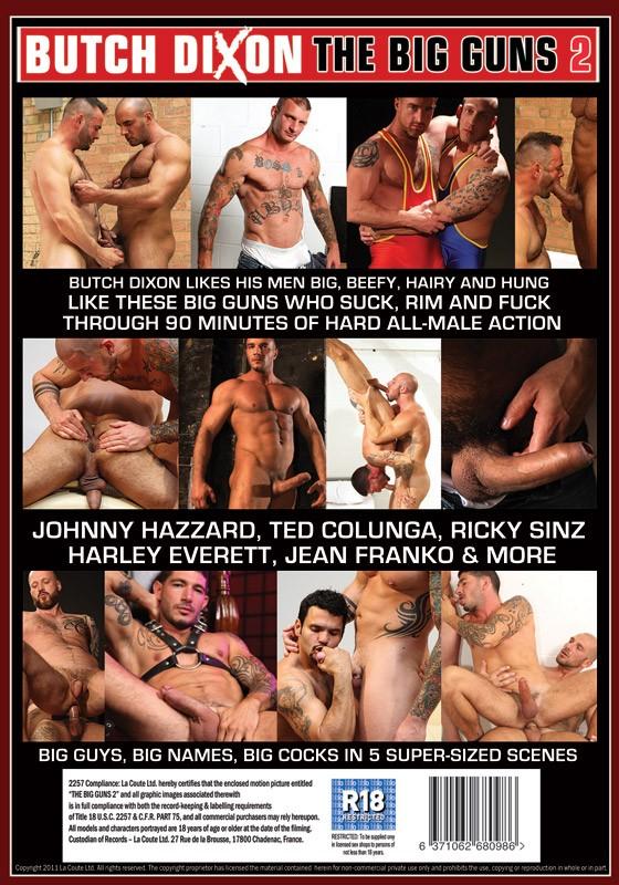 The Big Guns 2 DVD - Back