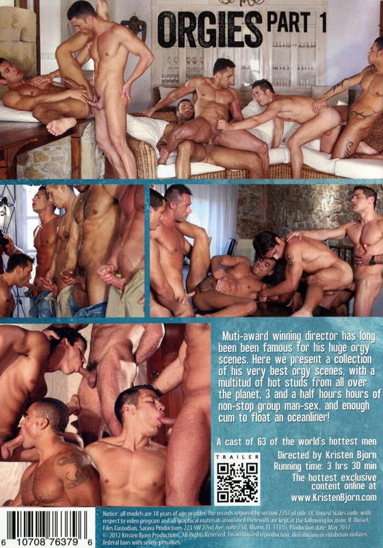 Orgies Part 1 DVD - Back