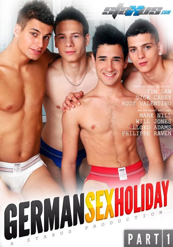 German Sex Holiday Part 1 DVD - Front