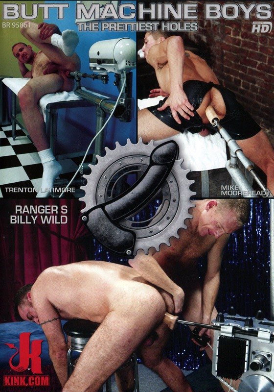 Butt Machine Boys 8 DVD (S) - Front