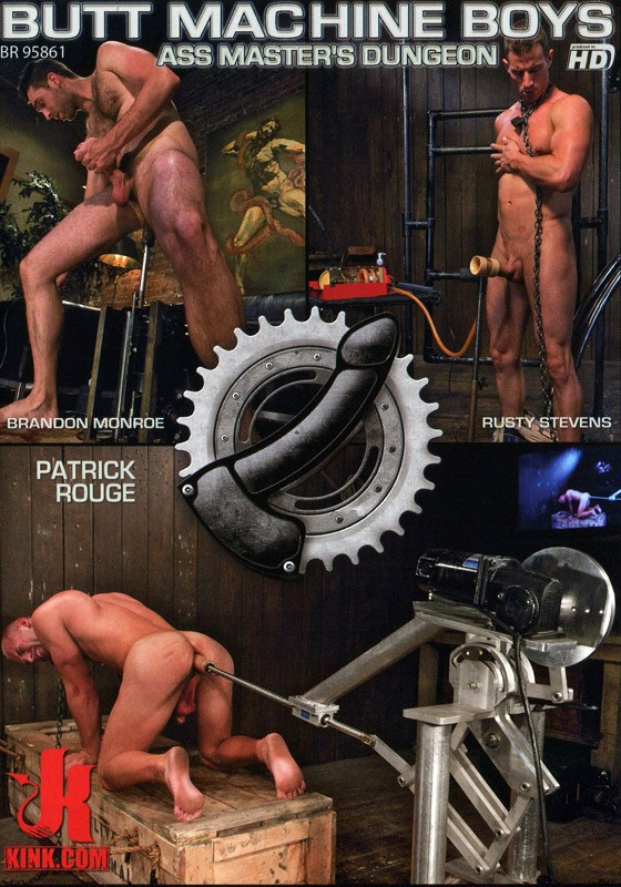 Butt Machine Boys 10 DVD (S) - Front
