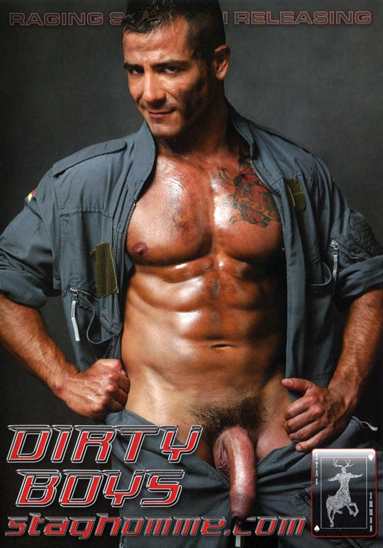 Dirty Boys DVD - Front