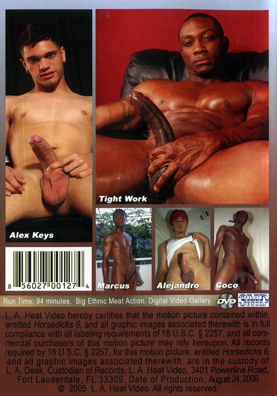 Horsedicks 6 DVD - Back