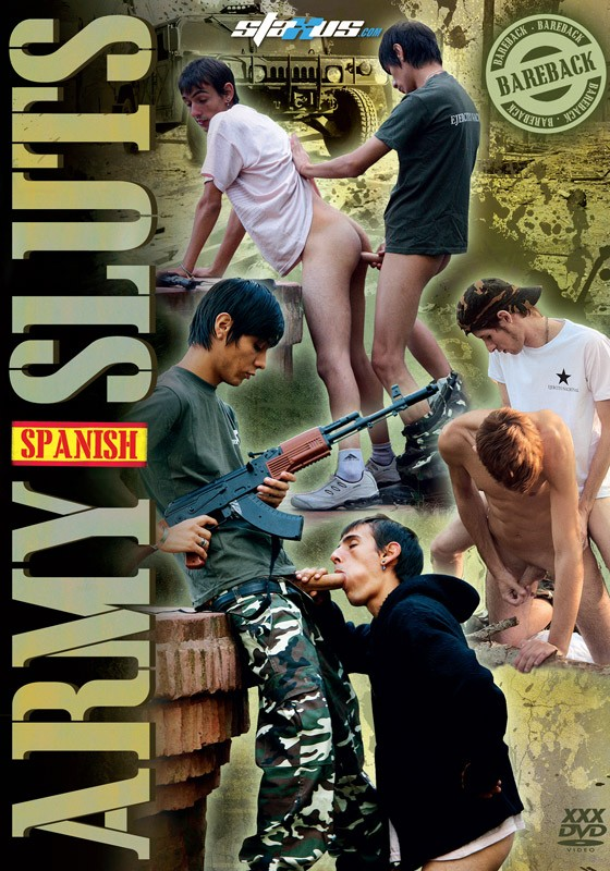 Spanish Army Sluts DVD - Front