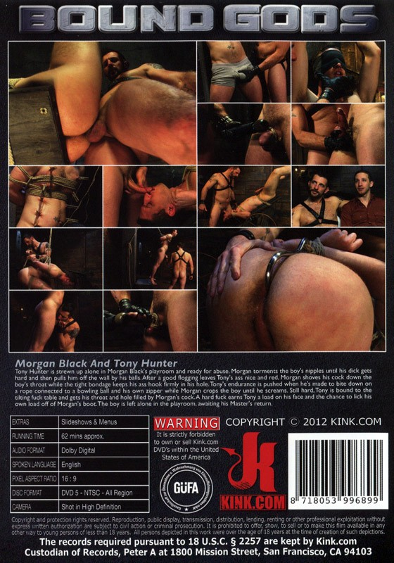 Bound Gods 10 DVD (S) - Back