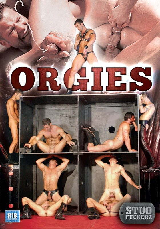 Stud Fuckerz Orgies DVD - Front