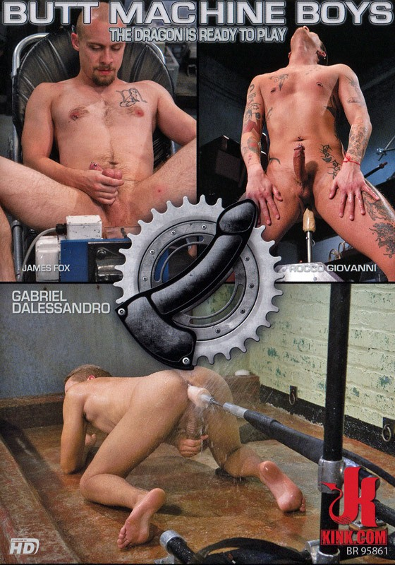 Butt Machine Boys 13 DVD (S) - Front