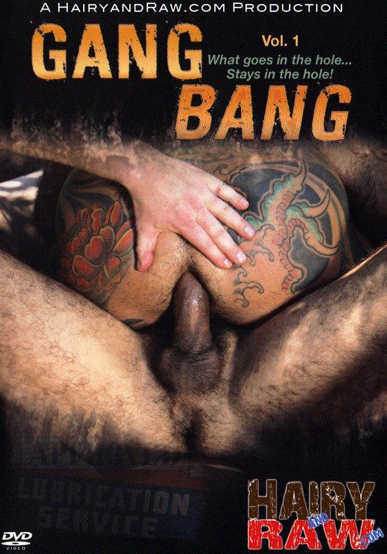 Gang Bang 1: What goes in the hole… Stays in the hole! DVD - Front