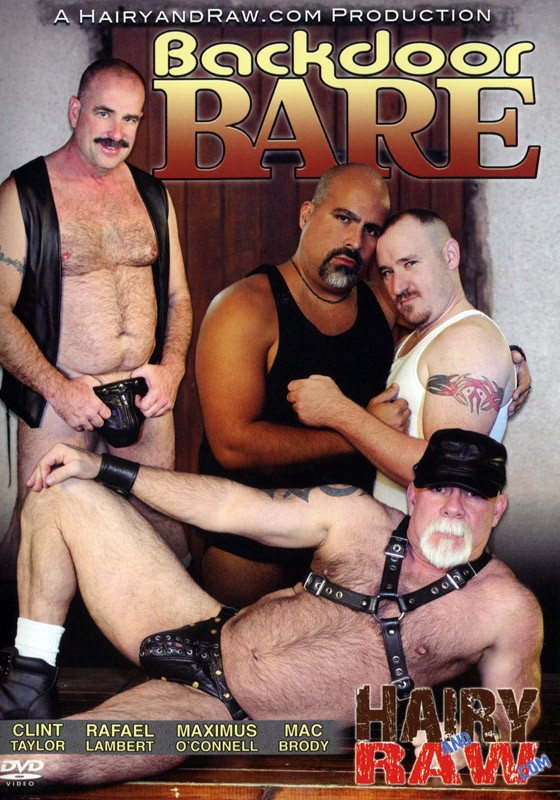 Backdoor Bare DVD - Front