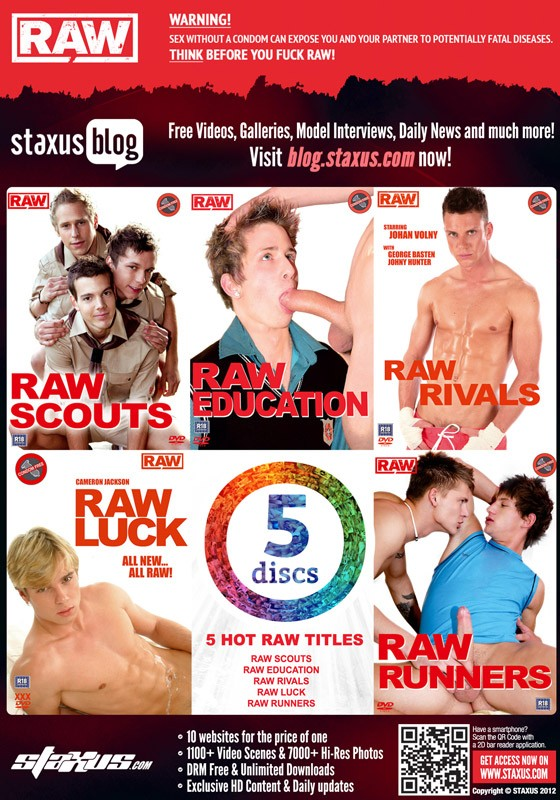 Staxus 5DVD Box Set: RAW DVD - Back