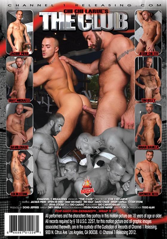 The Club DVD - Back