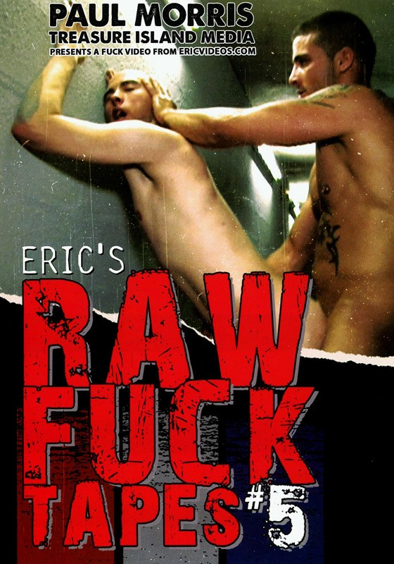 Eric's Raw Fuck Tapes 5 DVD - Front