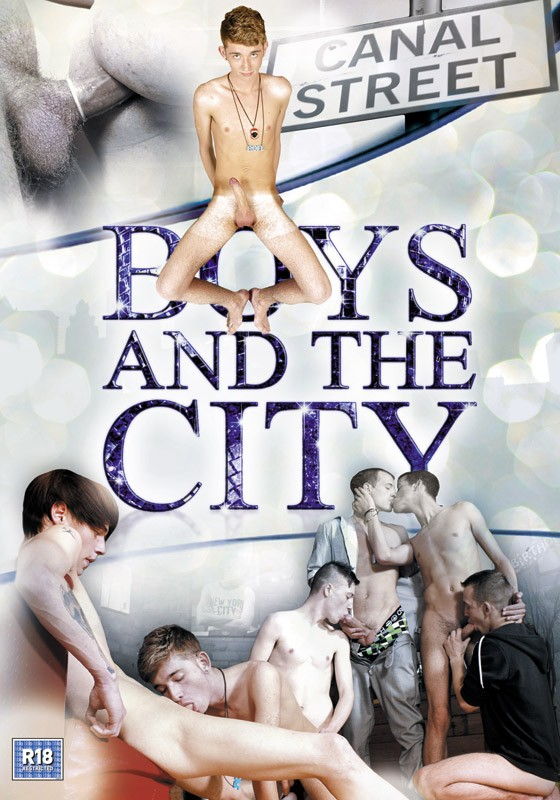 Boys And The City DVD - Front