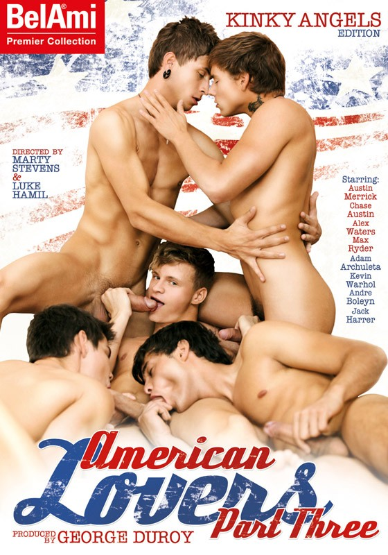 American Lovers Part Three DVD - Front